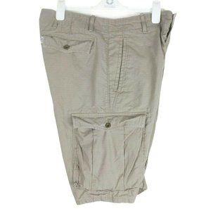 "Levis Mens 21"" Ace Cargo Shorts 6 Pockets Hiking"
